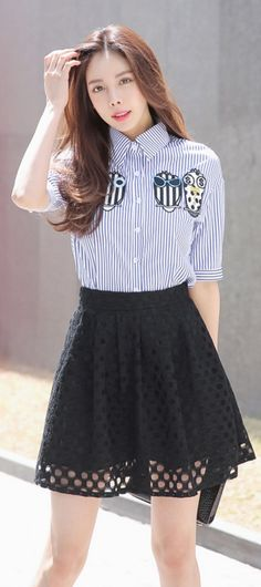 Korean Fashion Online Store 韓流 Trends  Luxe Asian Women 韓国 Style Clothes Shop korean style clothing Unique sniper SET