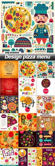 Design pizza menu