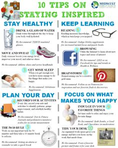 10 Tips on Staying Inspired