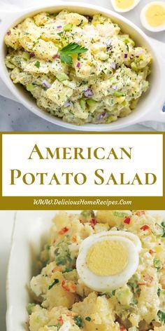American Potato Salad American Potato Salad   #FoodRecipes
