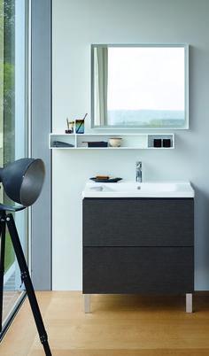 L-CUBE Mueble bajo lavabo by DURAVIT diseño Christian Werner