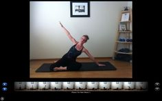 A quick, gentle Pilates stretching video for new moms with back pain and shoulder tension.