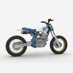 NX650 Love: Honda LM Vintage Edition #tracker by @dab_design_ a tribute to the original #NX650 Dominator donor bike!