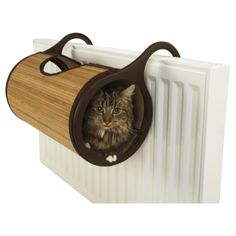 Jolly Moggy Natural Bamboo Radiator Bed - From £24.05