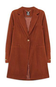 Primark - Tan Formal Coat