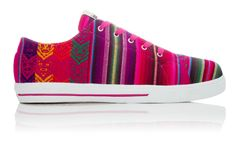 Cotton Candy Low Top - wish list. They're made out of Ecuadorian fabric!!