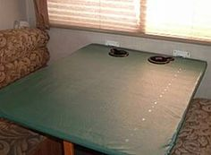 How to Build a Folding Table in an RV