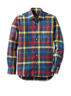 Kenneth Gordon Men's Flannel Shirt
