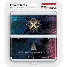 New Nintendo 3DS Cover Plates No.065 (Monster Hunter X)