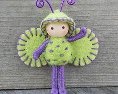 Green Apple Grape Juicy Bug bendy doll toy fairy