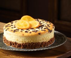 Cannoli Cheesecake with Tre Stelle® Extra Smooth Ricotta Cheese #cheesecake #dessert #recipe