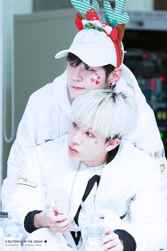 Hansol & Bjoo, they're so cute