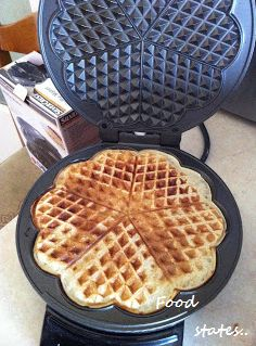Cookbook Recipes, Cooking Recipes, Waffle Iron, Food Processor Recipes, Waffles, Easy Meals, Sweet, Simple, Blog