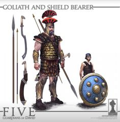 ArtStation - Five: Guardians of David Concept Art, Manuel Gomez 3d Character, Character Concept, Concept Art, Ancient Near East, Ancient Greek, Anime Fight, Archaeology, Comic Art, Book Art