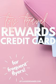 Wanna feel like you're living in luxury while traveling? Check out the best travel rewards credit card every frequent flyer needs. This travel credit card gives me the best travel rewards so I am always on a jet plane. Find out how to avoid the board gate and gain access to a Priority Pass with this travel reward credit card. Travel Reward Hacks // Travel Rewards // Travel Reward Hacks // Travel Rewards Programs Best Travel Apps, Travel Tips, Travel Hacks, Rewards Credit Cards, Best Credit Cards, Platinum Credit Card, American Express Platinum, American Express Credit Card, Travel Essentials For Women