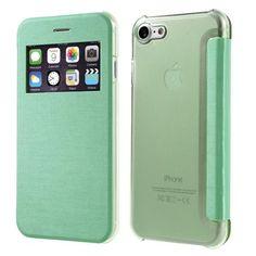 Köp Mobilfodral Window View Apple iPhone 7 grön online. http://www.phonelife.se/mobilfodral-window-view-apple-iphone-7-gron