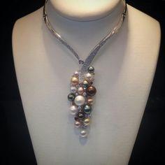 @angeloxdexluca. Scavia #amazing #necklace  #diamonds#sparkling #art #design