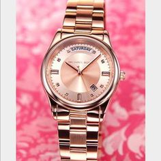 Michael Kors watch pink and rose gold NOT TO BE BUNDLED ⚠️ MICHAEL Michael Kors Accessories Watches