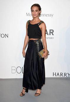 Marion Cotillard, Michael Fassbender, and Alicia Vikander attend Cannes amfAR Gala|Lainey Gossip Entertainment Update