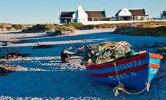 The Beach Hut - The Beach Hut is situated right on the beach in Paternoster, facing north across the bay. It commands one of the best positions available and is unique in every way. The self-catering house features . Beach Buggy, Wedding Venues Beach, Best Positions, Fishing Villages, Beach Walk, Cape Town, Weekend Getaways, Old Town, West Coast