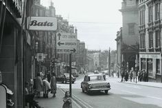 View looking down Albert Street and into Princes Street. Dundee City, Historical Photos, Glasgow, Old Photos, Scotland, Photographs, Street View, History, Lab Coats