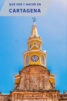 Tower, architecture, building and cartagena Love Pictures, Big Ben, I Am Awesome, Tower, Architecture, Building, Travel, Sony, Concrete