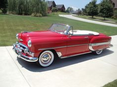 1953 Chevrolet Belair Convertible with continentale kit - Do you think it could happen?