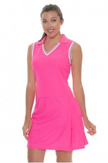 Celestial Ep Sport Ladies Ariel Cap Sleeve Golf Dress