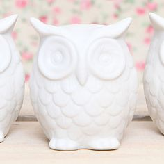 Ceramic Owl Decoration $9 I'm kind of obsessed with owls