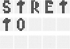 Ho scelto la parola 'Stretto' e ho reso il font appunto corto orizzontalmente, a parere mio. Photoshop