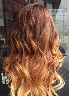 Strawberry Blonde Sombre - Red Hair Ideas To Try This Spring - Photos