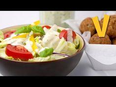 Ranch dressing - Recipe by The Vegan Corner - YouTube
