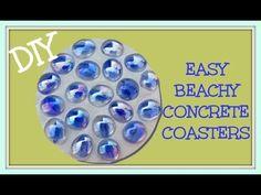 Beachy DIY Coasters | DIY Cozy Home