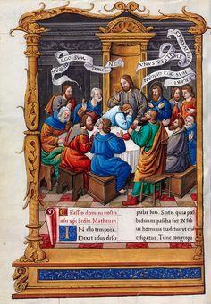 Biblioteca Digital Hispánica - 001-Evangeliario de París para uso de Carlos Duque de Angulema - 1500-1600