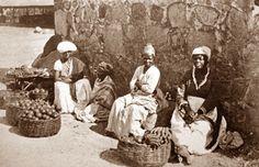 MULHERES FEIRANTES - 1875 -Marc Ferrez - Brazil