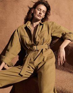 Amanda Murphy by Alexandra Nataf for Porter Magazine Summer 2018 - Desert Rose
