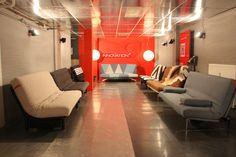 Slaapbank Rotterdam Goudsesingel.Showroom