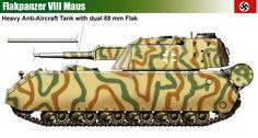 Flakpanzer VIII Maus