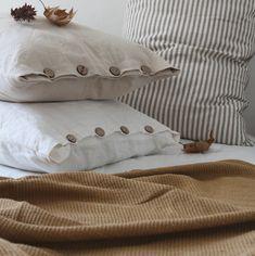 Bed Pillows, Pillow Cases, Textiles, Bedroom, Design, Canela, Woven Cotton, Bed Feet, Feet Nails