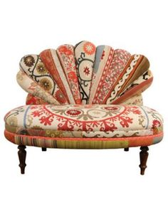 love this chair - suzani textile