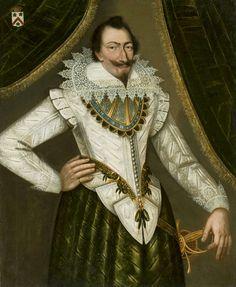 Portrait of Nicolas de Droullin by Charles Martin, ca. 1600 (PD-art/old), Muzeum Narodowe w Warszawie (MNW)