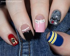 Riverdale nails for today& Season 3 premiere! I have a nail from every one & the The post Riverdale nails for today& Season 3 premiere! I have a nail from each & appeared first on Riverdale Memes. Riverdale Merch, Riverdale Funny, Bughead Riverdale, Memes Riverdale, Cute Acrylic Nails, Acrylic Nail Designs, Cute Nails, Nail Art Designs, Pretty Nails