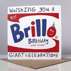 'Brill O' Birthday Card