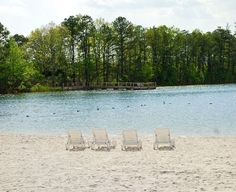 Perfect sand and sparkling water, what more could you ask for? Lake and Shore RV Resort - Ocean View, NJ