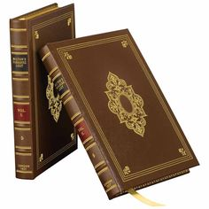 A stunning, Leather-Bound Edition of Paradise Lost: John Milton's immortal re-telling of the Biblical story of the Fall of Man. This elaborate two-volume leather-bound set includes all 24 vintage illustrations from renowned Romantic painter John Martin, who was also largely influenced by Milton in his own work.
