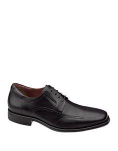 Johnston & Murphy Stricklin Leather Oxfords Men's Black 8