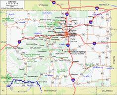 Downtown Denver map   Denver   Pinterest   Denver map, Denver and ...