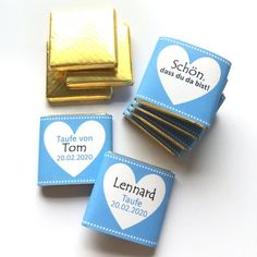 Gastgeschenk Taufe Schokolade personalisiert | Etsy Etsy, First Communion, Chocolate, Handmade