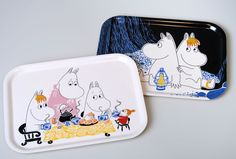 Moomin tea party Tray - Huset-Shop.com | Your House For