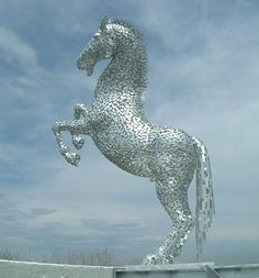 The White Horse, Sydney - Andy Scott sculpture